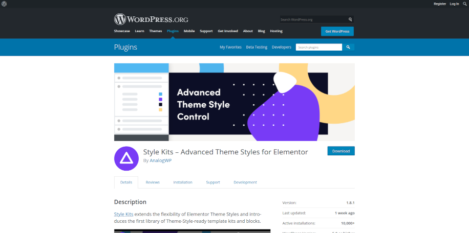 Style Kits – Advanced Theme Styles for Elementor